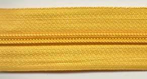 Endlosreißverschluß 5mm in Gelborange