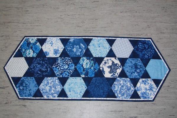 Materialpackung Tischläufer Blue
