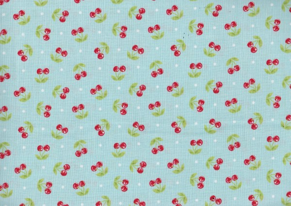 Aqua glamper cherries