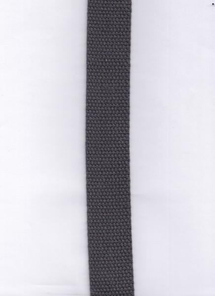 Gurtband in Anthrezit 002