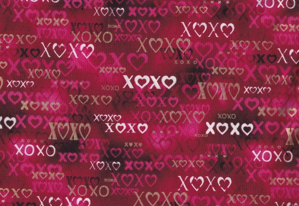 Hearts xoxo Berry