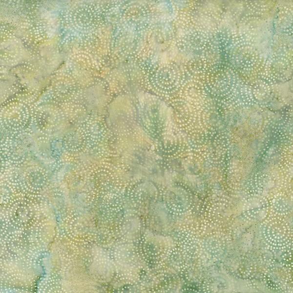 Batik Gepunktet Hellblau