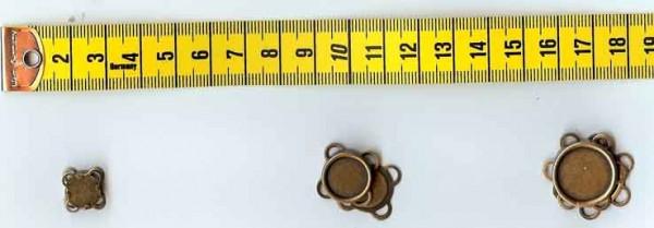 Magnetverschlüsse anthrazit klein zum Annähen