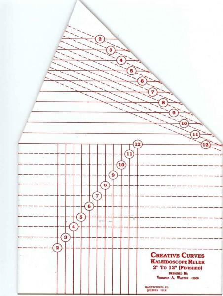 Creative Curves Kaleidoskope Ruler