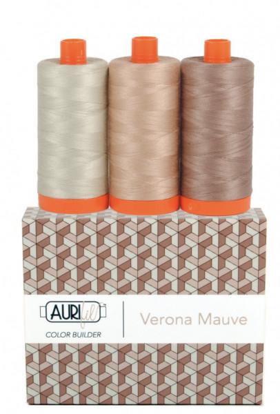 3 Garne-Verona Mauve