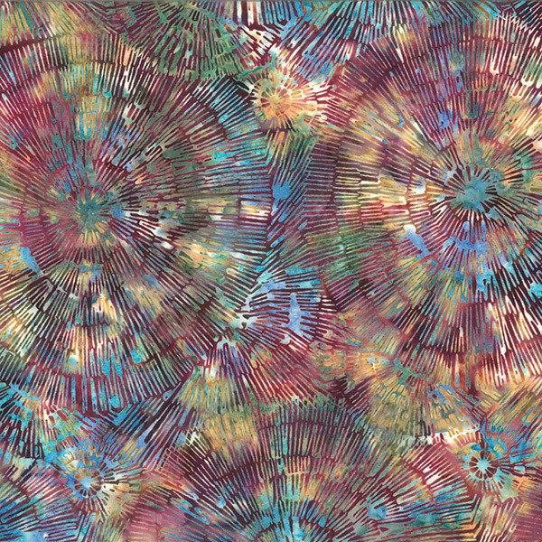 Batik Baumringe Multi