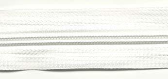 Endlosreißverschluß 5mm in Weiß
