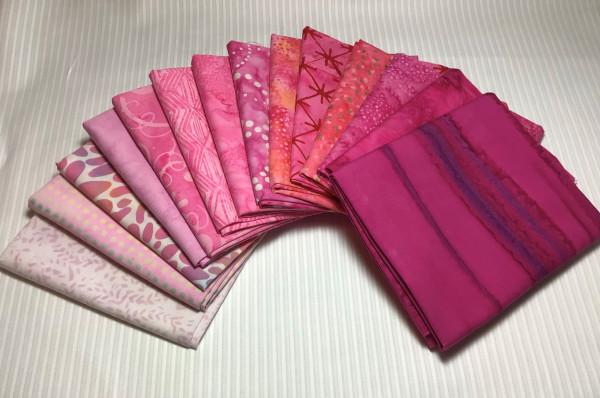 FQ Päckchen Batik Lady-Pink