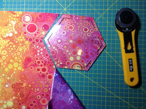 Hexagon Seitenlänge 11,25 cm