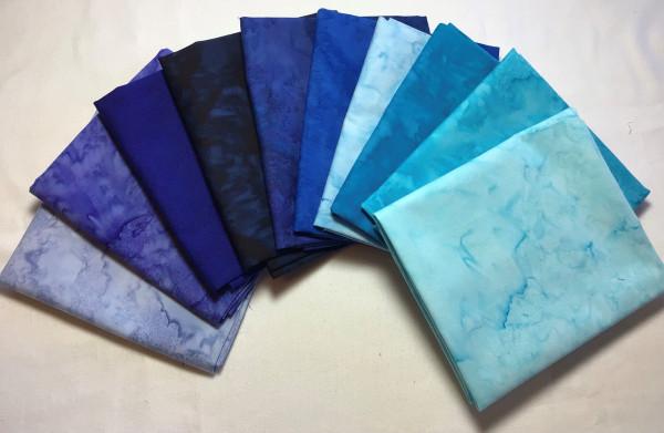 FQ Päckchen Batik Blue