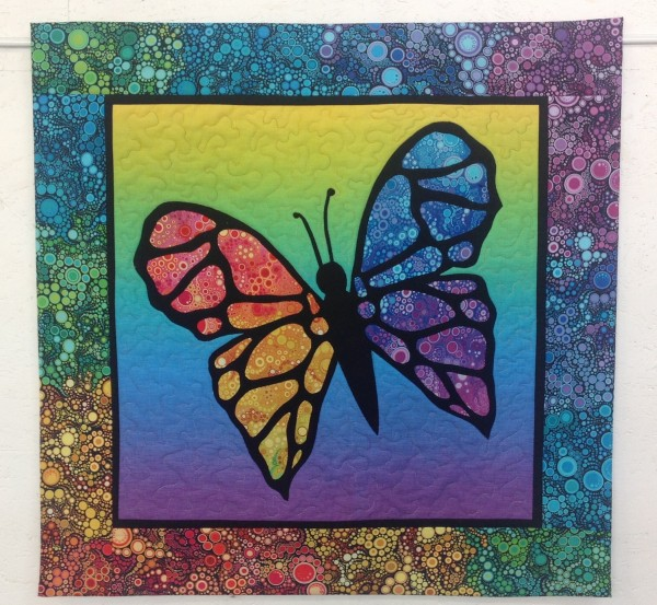 "Wandbehang ""Schmetterling, du buntes Ding"""