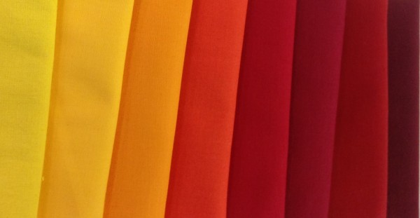 FQ Päckchen Uni Orange-Rot