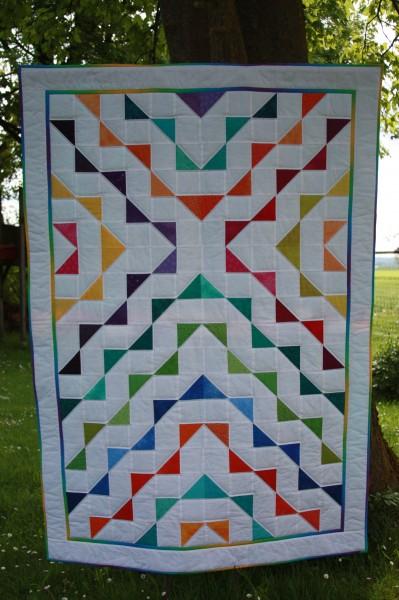 """Decke """"Schnelle Dreiecke""""; Materialpackung"""